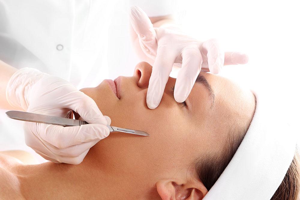 Dermaplane Treatment