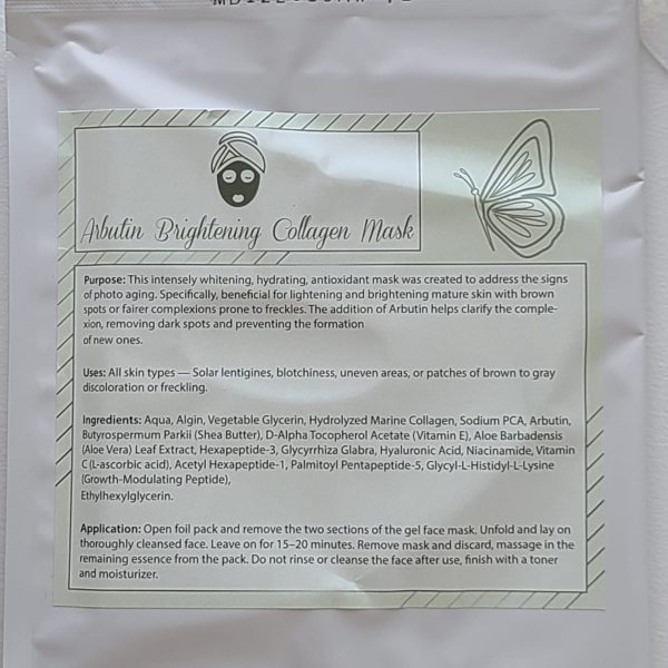 Arbutin Brightening Collagen Mask