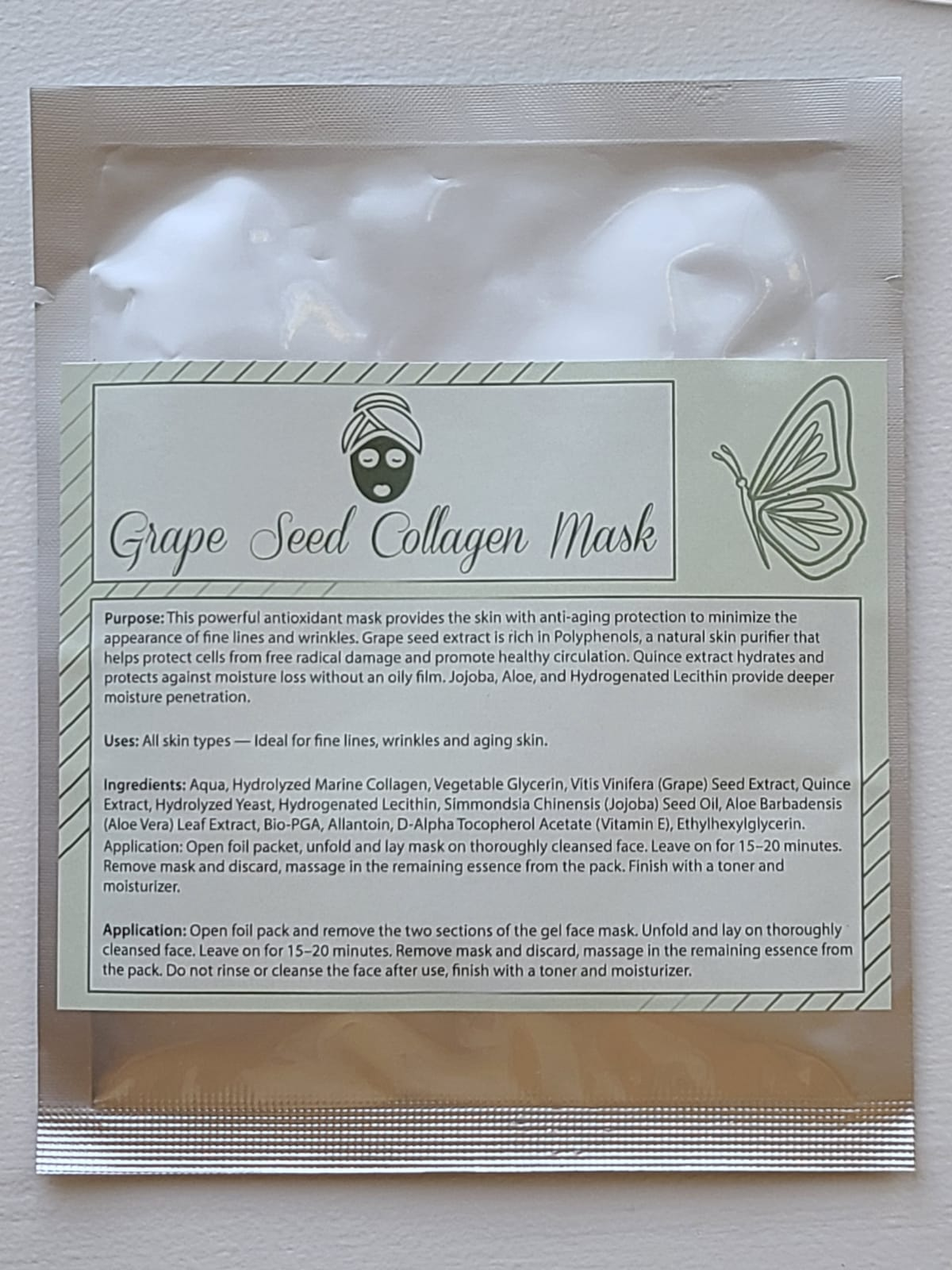 Grape Seed Collagen Mask